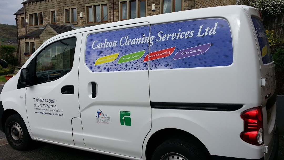 Carlton Cleaning Van